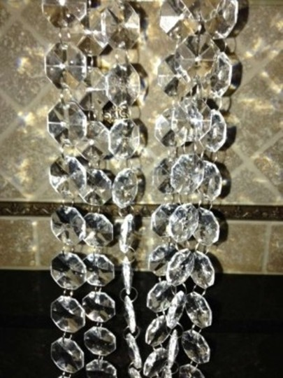 Clear 37ft Acrylic Garland Chain Reception Decoration