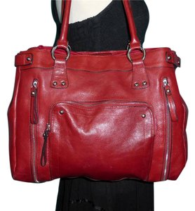 Pelle Studio Satchel in Red