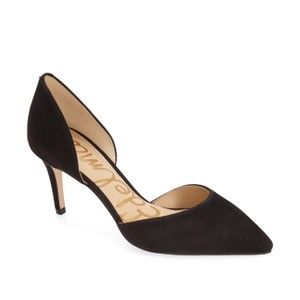 Sam Edelman Black Suade Pumps