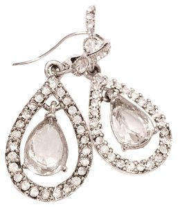 Carole Little The Kate Crystal Tear-Drop Earrings
