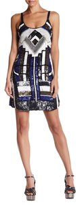 Parker Silk Embellished Dress