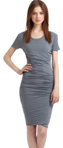 James Perse short dress Grey on Tradesy