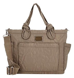 Marc by Marc Jacobs Quartz Grey/Beige Diaper Bag