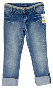 DKNY Capri/Cropped Denim-Light Wash