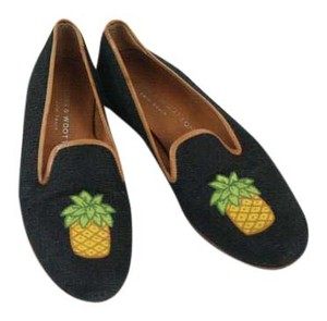 Stubbs & Wootton Slippers Embroidered Flats