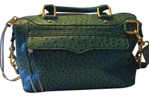 Rebecca Minkoff Satchel in Teal turquoise