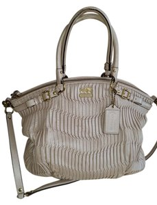 Coach Satchel in Pearl