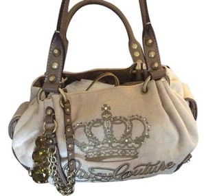 Juicy Couture Studded Handbag New With Tags Jewel Accent Hobo Bag