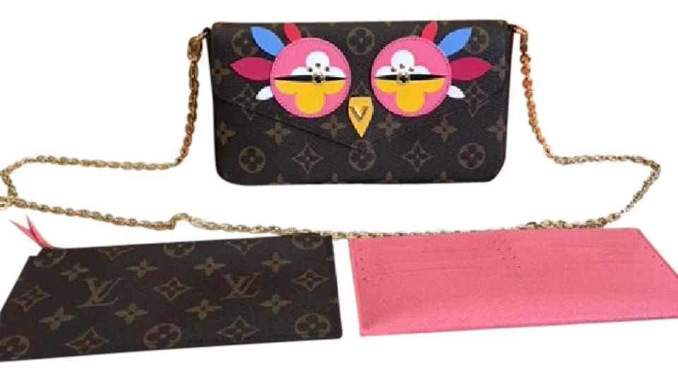 c07e4a036de7 Louis Vuitton Felicie Pochette Sold Out Limted Box Dustbag Inserts  (Monogram Ois. Rose) Canvas Cross Body Bag