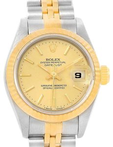 Rolex Rolex Datejust Steel 18k Yellow Gold Automatic Ladies Watch 69173