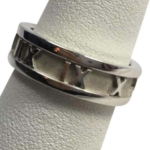 Tiffany & Co. Authentic Tiffany & Company Sterling Silver Atlas Band Ring size 6