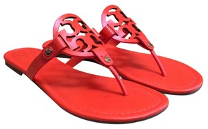 Tory Burch Poppy Red Nappa Sandals