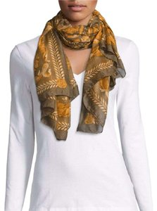 Versace Modal Cashmere Large Breezy Floral Print Scarf IFO14R1 IT1040 I7916