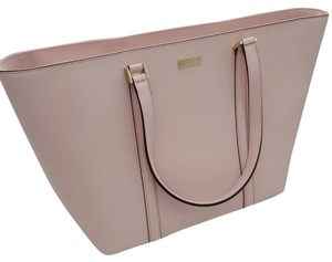 Kate Spade Large Saffiano Leather Dally Tote in POSY PINK