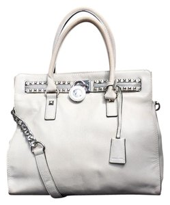MICHAEL Michael Kors Satchel in Ivory