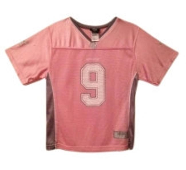 Preload https://item2.tradesy.com/images/reebok-light-pink-and-grey-nfl-dallas-cowboys-romo-jersey-tee-shirt-size-8-m-20501-0-0.jpg?width=400&height=650