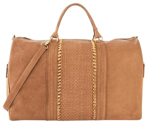 Clever Carriage Company Leather Weekender Travel light tan Travel Bag