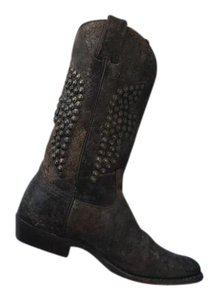 Frye Studded Great Condition Brown Boots