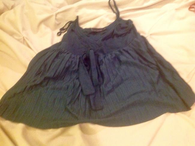 The Limited With Pleats With Tags Top Dark teal
