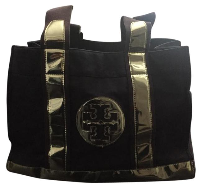 Item - Bag Navy/Silver Navy/Silver Canvas Tote