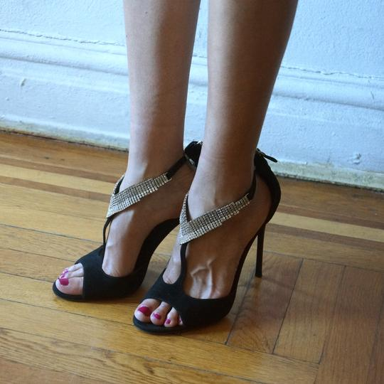 Brian Atwood High Heel Party Sexy Black Pumps