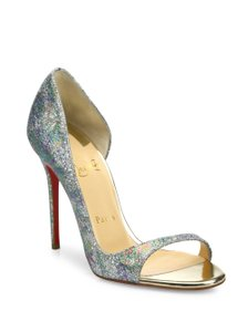 Christian Louboutin Pigalle Open Toe Sandal Multi Pumps
