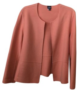 Eileen Fisher apricot Jacket