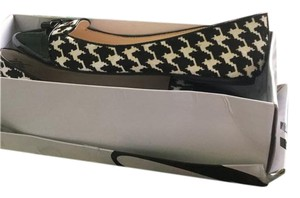 Nine West Houndstooth/black and. White Flats