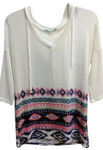 Maurices Hoodie Ivory Tunic