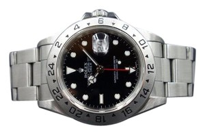 Rolex Rolex Perpetual Explorer II SS/Black Mens Watch 40mm