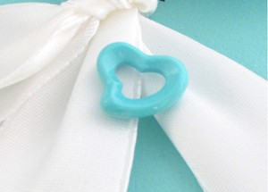 Tiffany & Co. Tiffany & Co RARE MINT Peretti Turquoise Carved Heart Charm