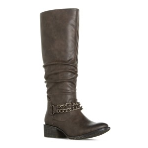 ShoeDazzle Charcoal Boots