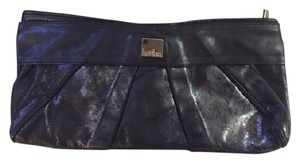 Kooba Hardware Leather Black and silver Clutch