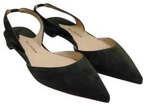 Paul Andrew olive green Flats