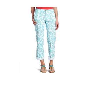 Lilly Pulitzer Capri/Cropped Pants Blue White