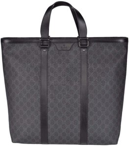 Gucci Men's Shopper Tote in Black
