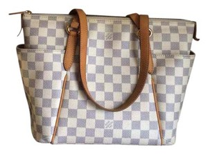 Louis Vuitton Damier Azur Totally Totallypm Tote in White