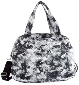 Steve Madden Black floral Travel Bag