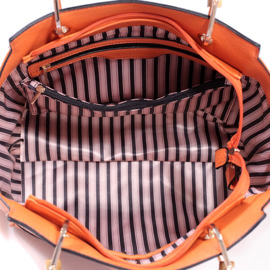 Other Classic Bags Large Handbags The Treasured Hippie Vintage Purse Satchel in Orange Image 1
