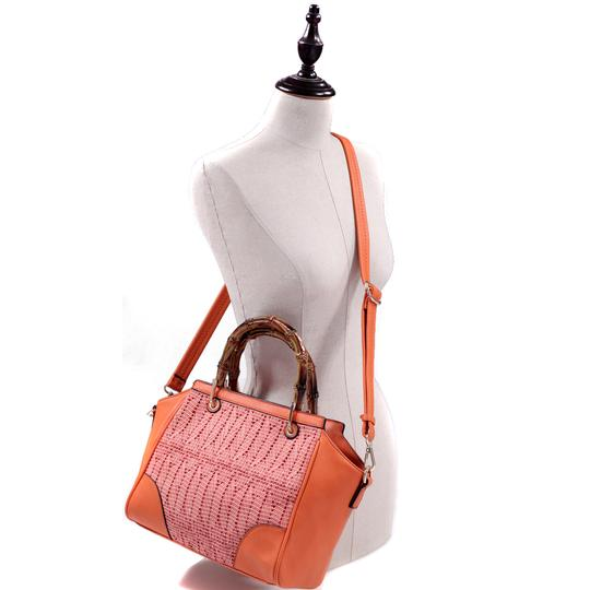 Other Classic Bags Large Handbags The Treasured Hippie Vintage Purse Satchel in Orange Image 2