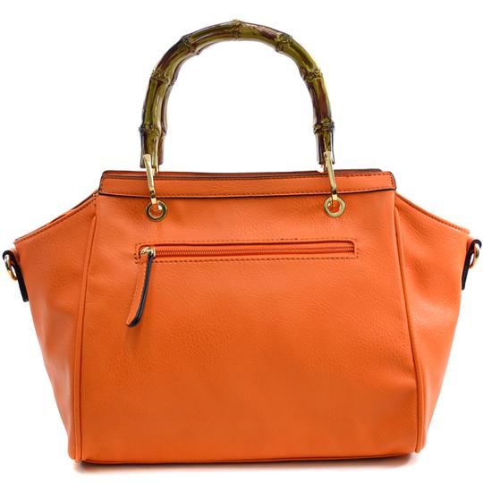 Other Classic Bags Large Handbags The Treasured Hippie Vintage Purse Satchel in Orange Image 3