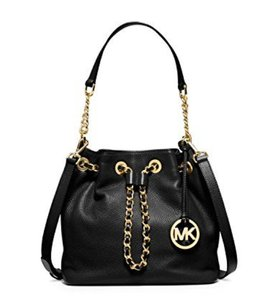 Michael Kors black Messenger Bag