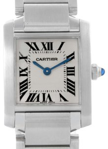 Cartier Cartier Tank Francaise Small Ladies Stainless Steel Watch W51008Q3