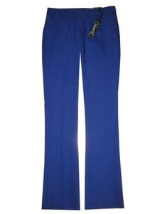 Express Columnist Bootcut Slacks Boot Cut Pants blue