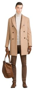 Zara Mens Large Mens Man Trench Coat
