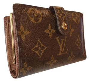 Louis Vuitton Monogram Porte Monnaie Billets kisslock wallet