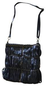Linea Pelle Lp Blk Luna Cross Body Bag