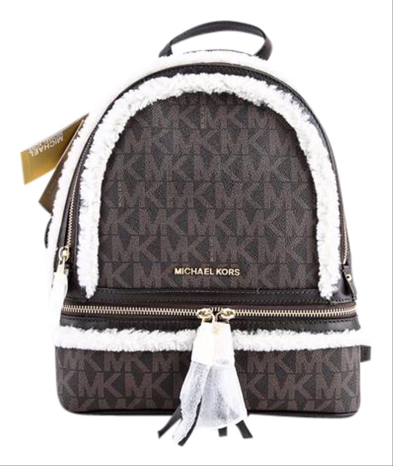 michael kors rhea fur backpack on sale 27 off. Black Bedroom Furniture Sets. Home Design Ideas