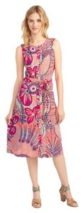 Tommy Bahama short dress Coral Multi Island Fun Comfortable on Tradesy