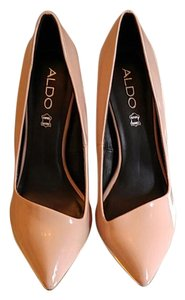ALDO Nude assymetric pumps. Never worn Pumps